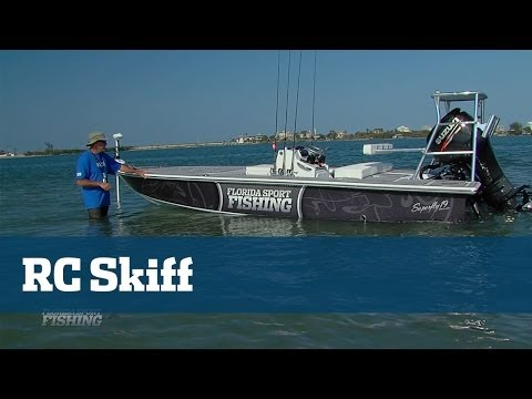 Remote Control 19 ft. Flats Skiff