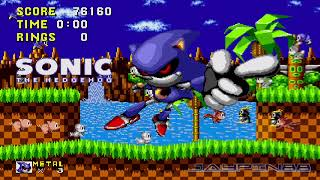 Metal Sonic in Sonic 1, 2, 3, CD, & Mania :: Character Showcase (720p/60fps)