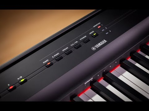 Yamaha P-125 Digital Piano - Full Demo with Gabriel Aldort