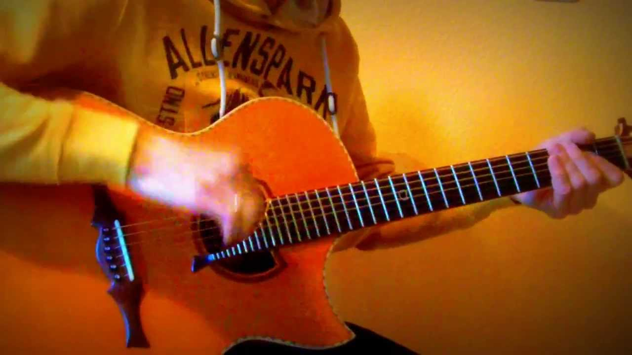 highway to hell ac dc on acoustic guitar youtube. Black Bedroom Furniture Sets. Home Design Ideas