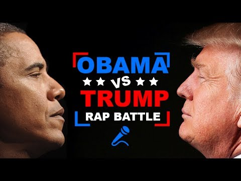 Donald Trump vs. Barack Obama | RAP BATTLE!
