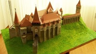 The making of the Vajdahunyad Castle papercraft