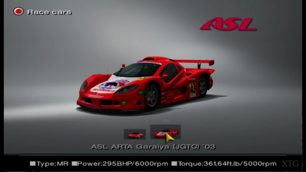 gran turismo 4 asl car list hd ps2 gameplay youtube. Black Bedroom Furniture Sets. Home Design Ideas