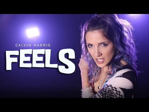 Calvin Harris - Feels Feat. Pharrell Williams, Katy Perry - Rock Cover By Halocene