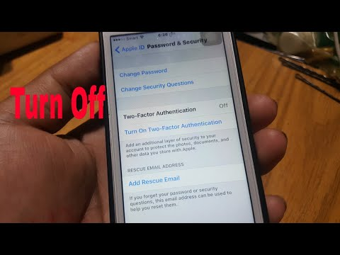 New. How To Turn Off Two Factor Authentication Account Apple iD