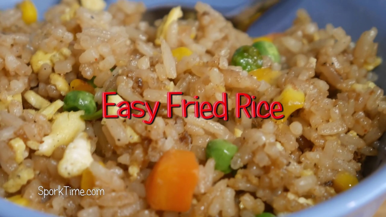 Easy fried rice no wok method youtube easy fried rice no wok method ccuart Gallery