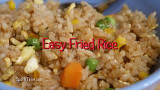 Easy Fried Rice no WOK method!