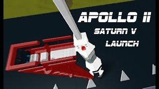 Saturn V Apollo 11 || ROBLOX Plane Crazy