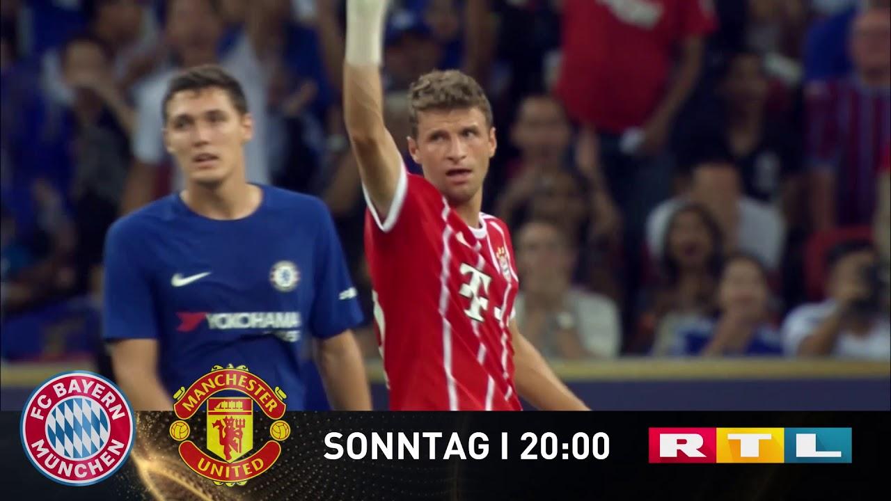 FC Bayern München gegen Manchester United | Sonntag bei RTL!
