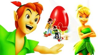 EPIC Peter Pan Flight on a Playmobil Surprise Egg! How to make Tinkerbell Invisible