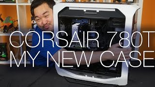 corsair Graphite 780T Full Tower Case Unboxing and Review