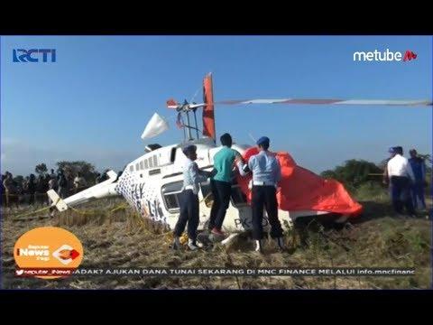 Helikopter Carpediem Air Mendarat Darurat di Lombok Tengah, Pilot & Pengemudi Selamat - SIP 15/07