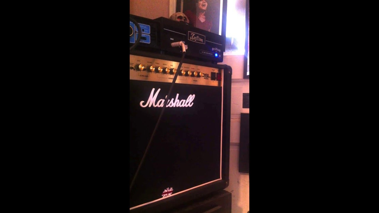 Kustom 1x12 Cabinet Kustom Defender 5h Demo Youtube