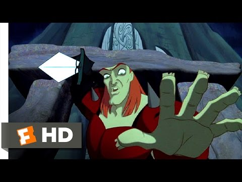 Quest For Camelot (8/8) Movie CLIP - Defeating Ruber (1998) HD