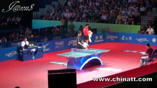 2011 China Harmony Open (ms-f) ZHANG Jike - MA Long [Full Match|Short Form/Diff Angle]