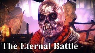 Witcher 2. квест Вечный бой Бой с драугом (Глава 2, Путь Йорвета)
