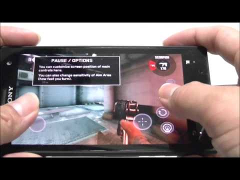 Sony Xperia Acro S Review Game Test