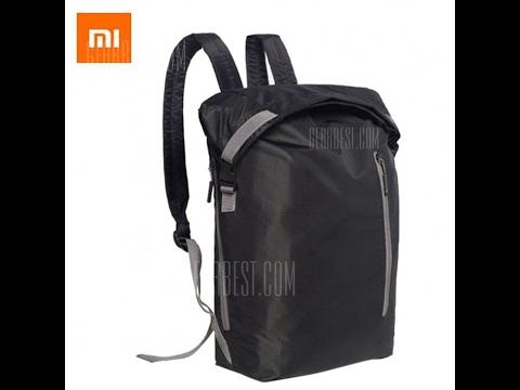 Обзор рюкзака Xiaomi 20L