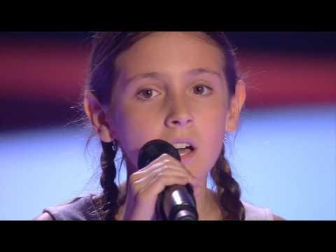 """Elena: """"Memory"""" - Audiciones a Ciegas - La Voz Kids 2017"""