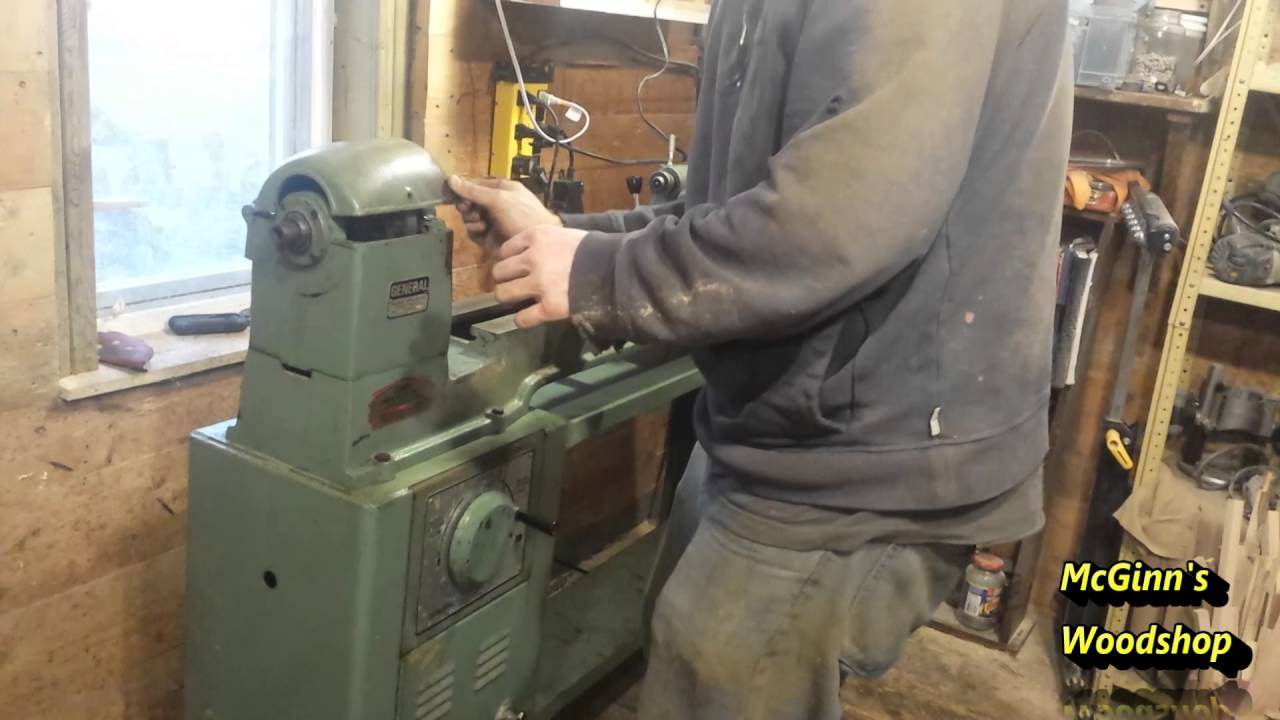Lieutenant General 160 1 Lathe Cleanup Amp Turning An Elm