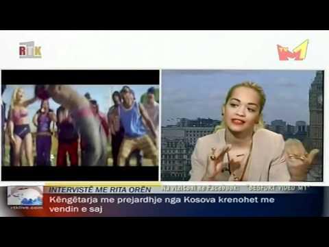 Rita Ora - Interview in Albanian 2012