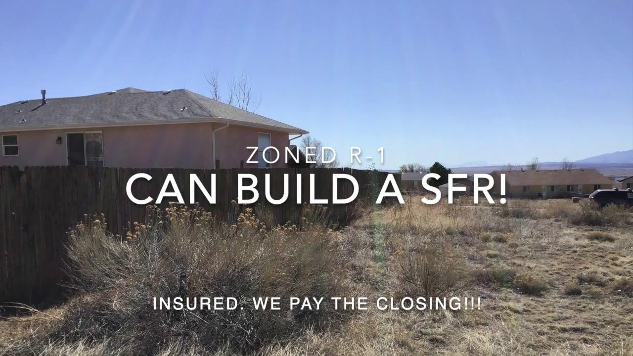 Building site in Pueblo West. Near School!