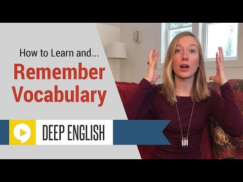 How to Learn English Vocabulary to Become a Better English Speaker