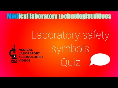 Laboratory Safety Symbols Quiz