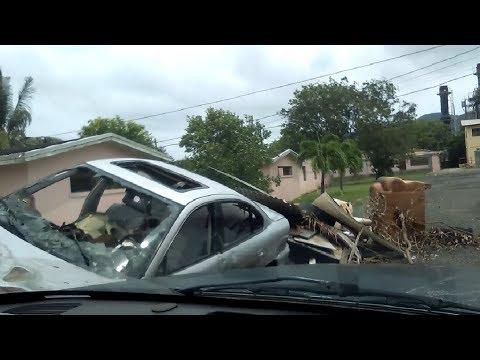 Hurricane Irma Destruction - United States Virgin Islands St Croix Carribean