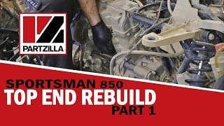 Polaris Sportsman Top End Rebuild Part 1: Engine Removal | Partzilla.com