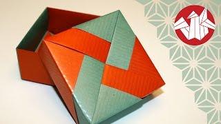 Origami - Boîte de Tomoko Fuse - Tomoko Fuse Box [Senbazuru]