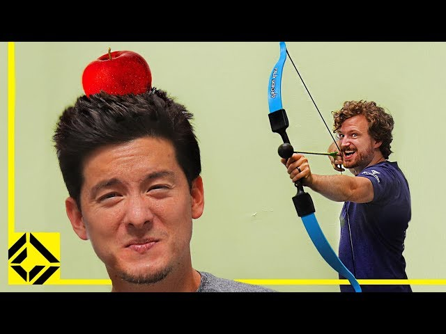 Can You Shoot an Apple Off Your Head? (William Tell Archery Challenge)
