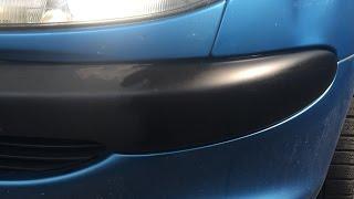 Comment nettoyer / raviver les plastiques extérieur d'une voiture