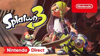 Splatoon 3 - Announcement Trailer - Nintendo Switch