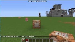 nuevo comando minecraft 1.8 - casas, castillo, etc... [sin mods]
