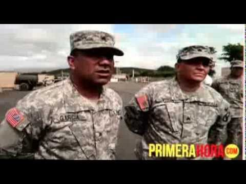 US Army Reserve-PR troops receive new equipment