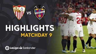 Highlights Sevilla FC vs Levante UD (1-0)