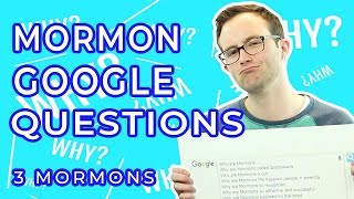 Most Searched Questions About Mormons!
