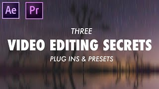 3 Plugins that EVERY VIDEO EDITOR should have!
