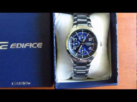 Casio Edifice EF - 316D-2A видео обзор