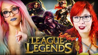 COMO NÃO JOGAR LEAGUE OF LEGENDS  | Satty Joga feat. Queen B