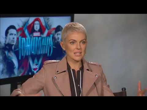 Serinda Swan talks about Marvel's Inhumans