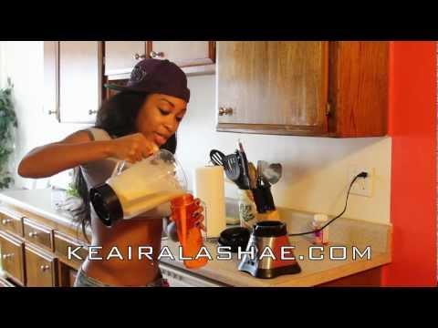 How To Make The Best Tasting Protein Shake With Keaira Lashae Banana Pudding Flavor