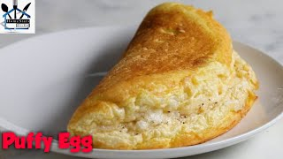 PUFFY EGG || Simple and delicious || try at home....😍😍