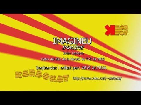 Imagineu (Imagine) - JOHN LENNON - Karaoke en català - KARAOKAT