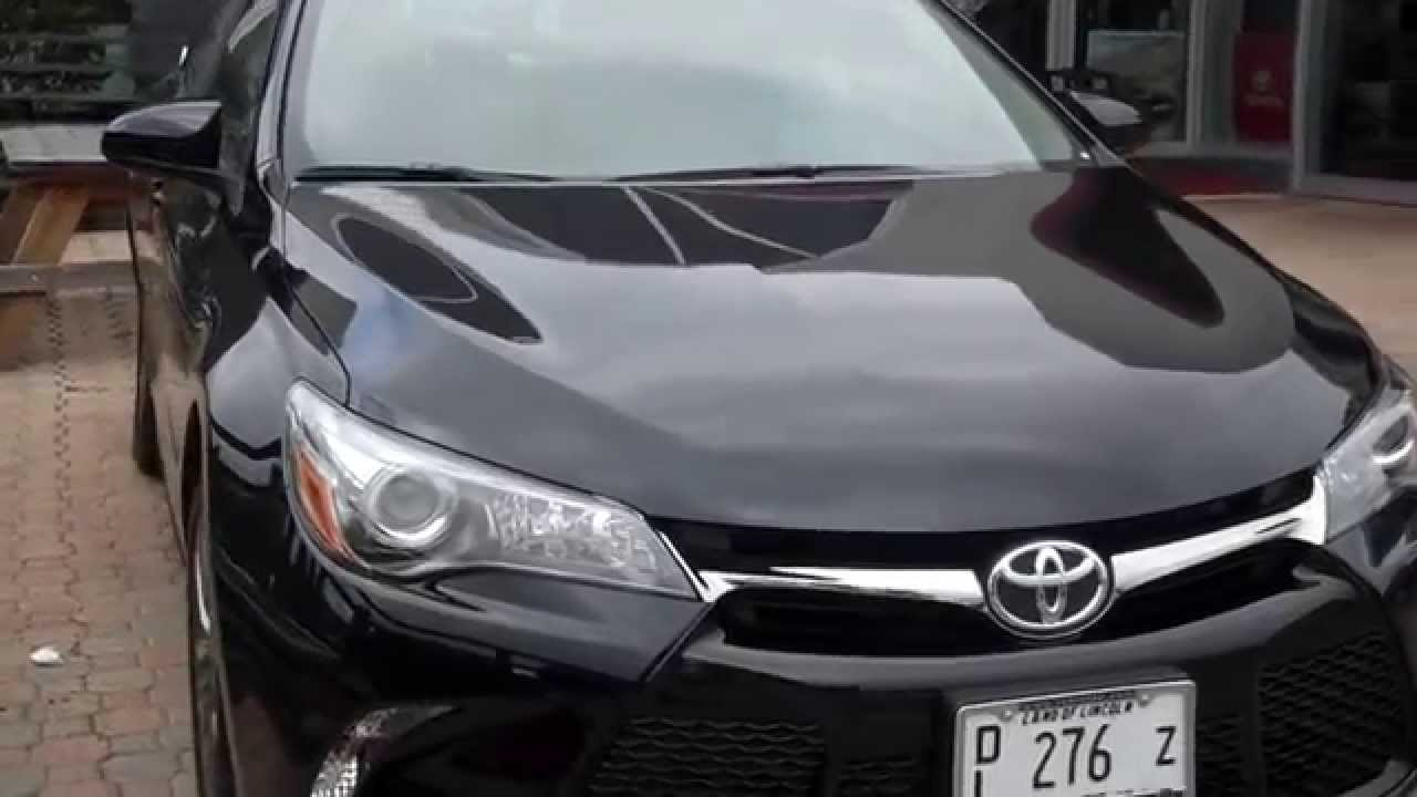 The New 2015 Toyota Camry Se At Oakbrook Toyota Youtube