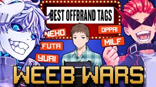 ANIME UPROAR AND NUX TAKU BATTLE OVER MY NEW ANIME GAME SHOW - Weeb Wars Premier Episode!