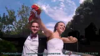 Замуж на кабриолете верхом. Кабриолет на свадьбу в Ростове. Аренда Кабриолетов.