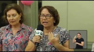 Jornal Acontece - Outubro Rosa - LIBRAS