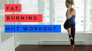 15 minute Fat Burning HIIT Workout  (No Equipment)